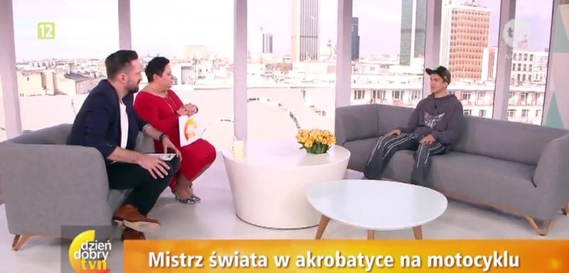 Rafał Pasierbek w TVN