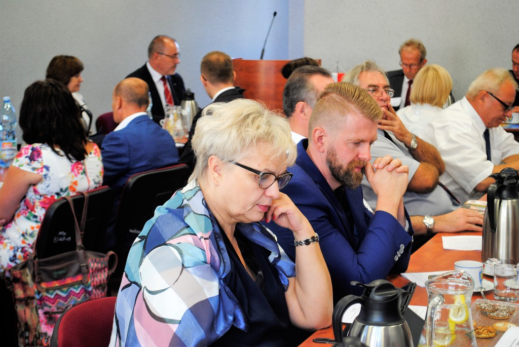 XXXII sesja Rady Powiatu Opolskiego (30.08.17)