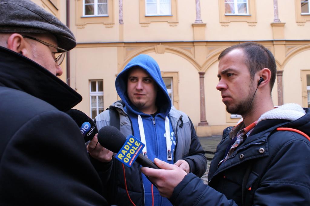 Przekazanie busa dla DPS w Prószkowie 22.01.18