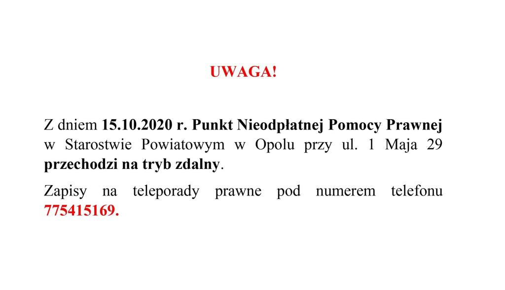 NPP tryb zdalny 15.10.2020