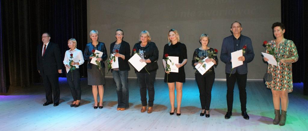 Nagrodzeni nauczyciele z Zespołu Szkół w Ozimku
