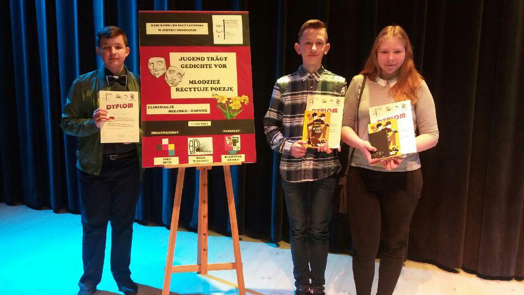 Laureaci konkursu poezji niemieckiej