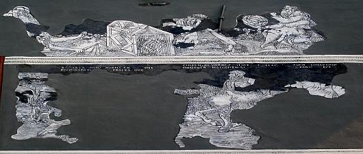 Malowidła ścienne na zamku w Prószkowie