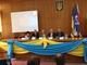 Uroczysta sesja. 10 lecie podpisania układu o wzajemnej współpracy partnerskiej.
