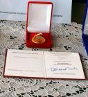 Galeria Medal dla prof. Knosali