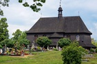 Drewniany kościół w Czarnowąsach
