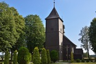 Drewniany kościół w Ochodzach
