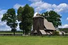 Drewniany kościół w Zakrzowie Turawskim