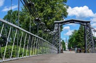 Most stalowy w Ozimku