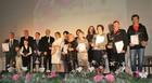 Laureaci i wyróżnieni w III edycji nagrody Starosty Opolskiego Magnolia Powiatu Opolskiego 25 listopada 2016r.