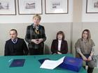 Galeria 27.11.18 podpisanie umowy o współpracy ZS w Prószkowie i Uniwersytetem Opolskim
