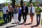Wizyta w Urzędzie Gminy Dobrzeń Wielki (7.05.2015)